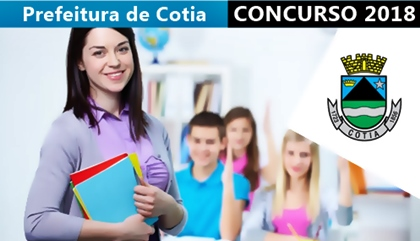 Concurso Prefeitura de Cotia 2018