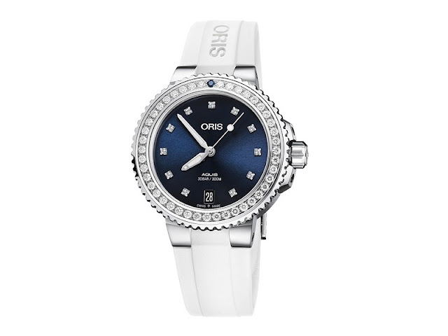 Oris's Aquis Date Diamonds makes for ideal Mother's Day gift