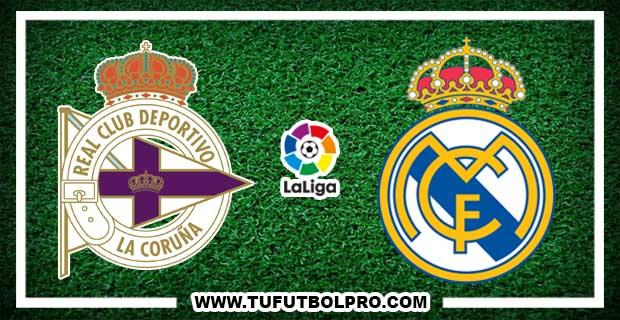 Ver Deportivo vs Real Madrid EN VIVO Por Internet Hoy 20 de Agosto 2017