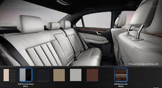 Nội thất Mercedes GLE 400 4MATIC 2017 màu Vàng Ginger/Đen (245)