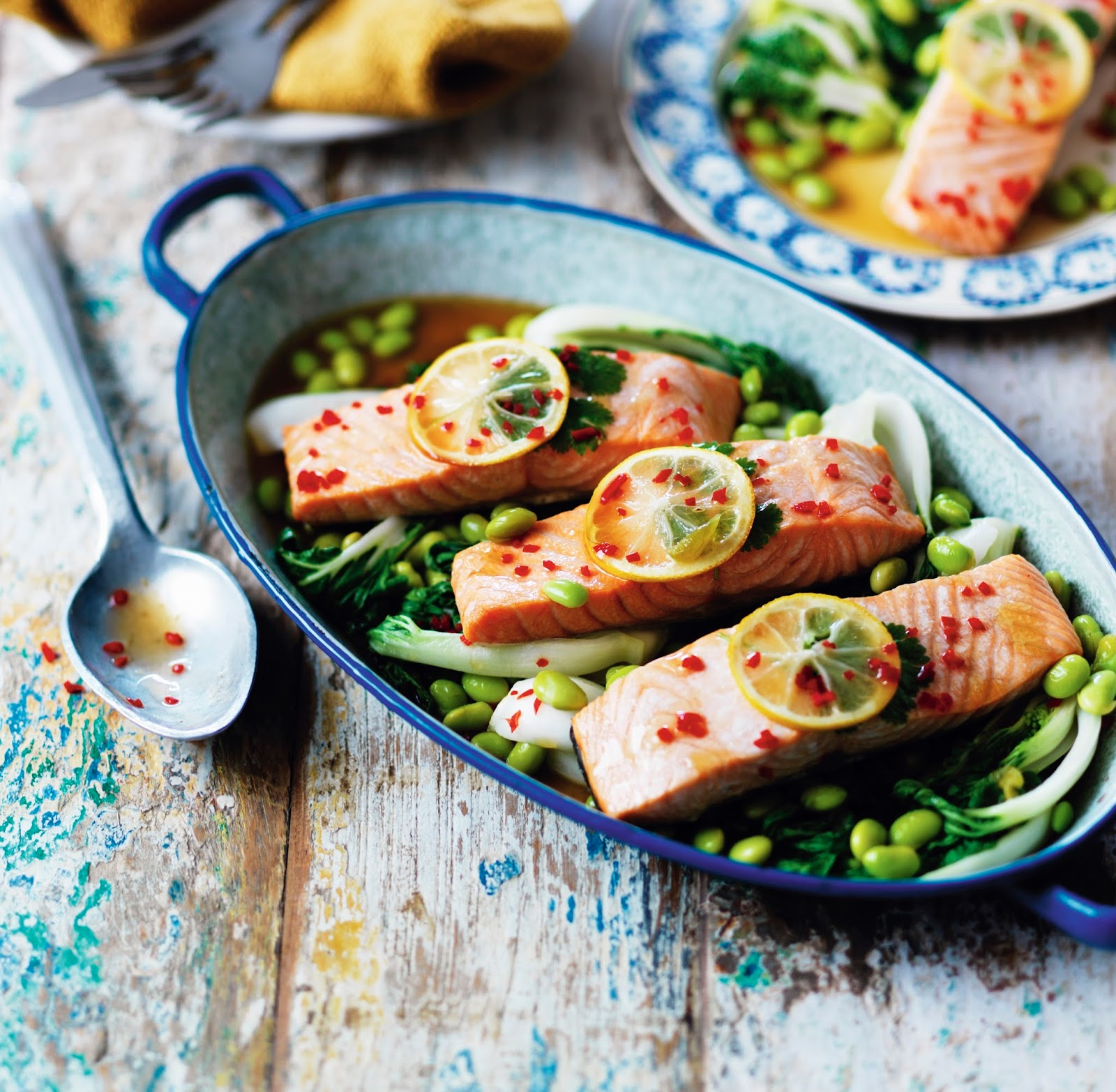 LOVE Life Steam-Baked Teriyaki-Style Salmon