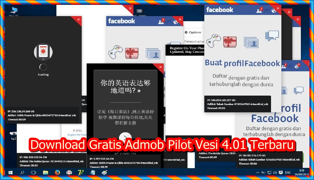 Download Gratis Admob Pilot Vesi 4.01 Terbaru