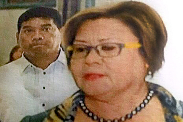 """We've seen some snippets of facts"" –De Lima on Duterte's accusations"
