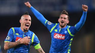 Champions Napoli si qualifica anche se perde