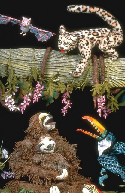 Rainforest Adventures at The Center for Puppetry Arts in Atlanta, GA. A great puppet show for kids ages 4 & up!