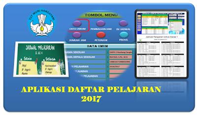 Aplikasi Jadwal Pelajaran 2017 Gratis