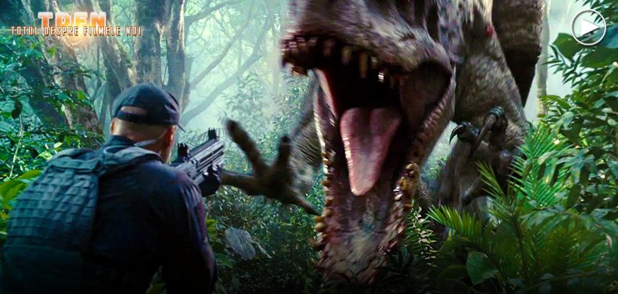 Indominus Rex este noua atracţie fioroasă a parcului din continuarea Jurassic World