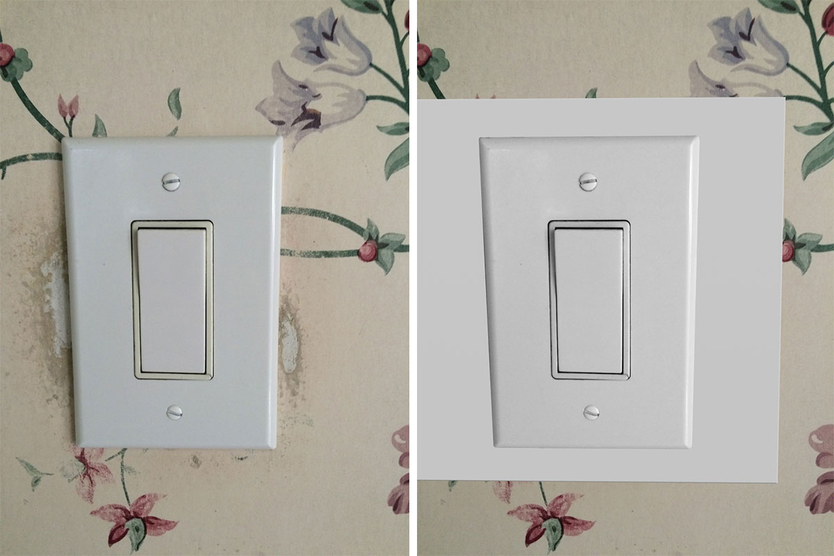 Kyle Switch Plates Extend Your Switch Plate to Protect Your Wall or