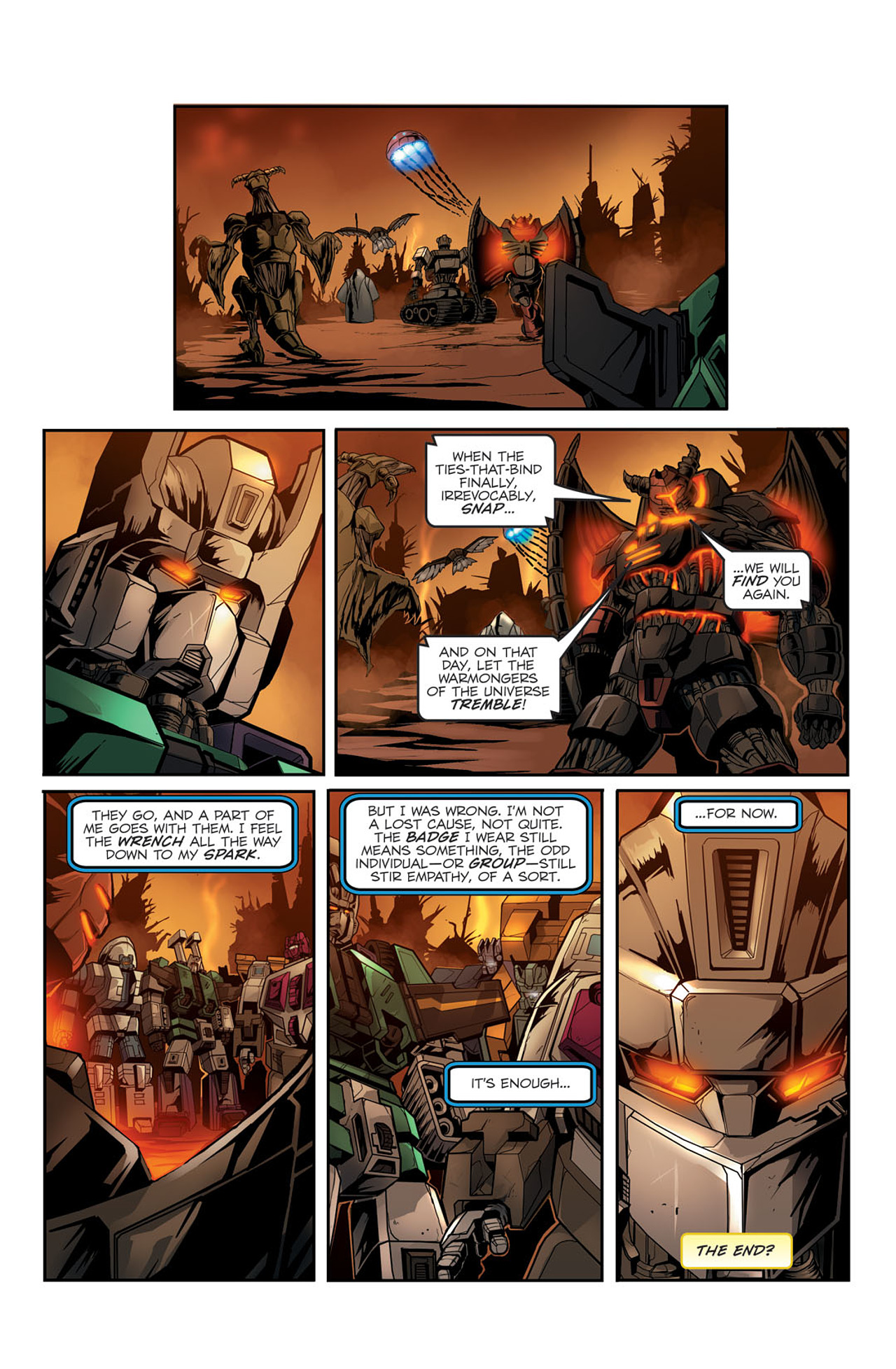 Read online Transformers Spotlight: Sixshot comic -  Issue # Full - 25