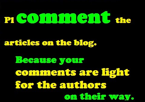 Comment To Blog