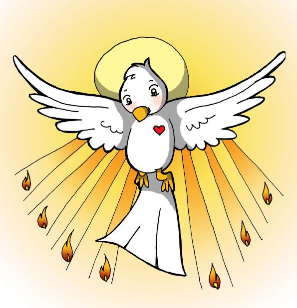 Oracion Al Espiritu Santo on Dibujos Religiosos