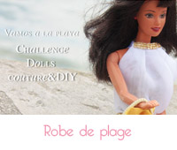robe de plage barbie