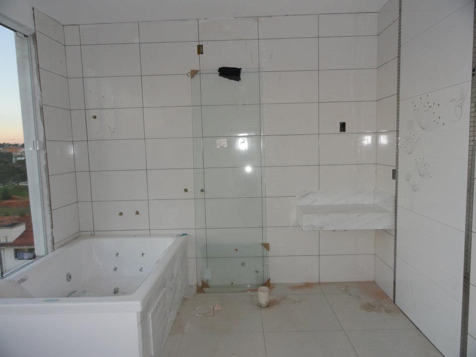 Construindo Minha Casa Clean Meus Banheiros com Mármore!!! Nas Bancadas e na # Banheiro Com Banheira E Chuveiro Separados