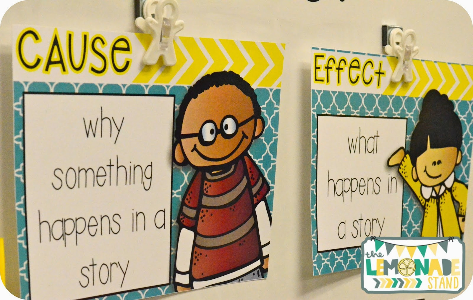 Cause and Effect Anchor Chart Resources