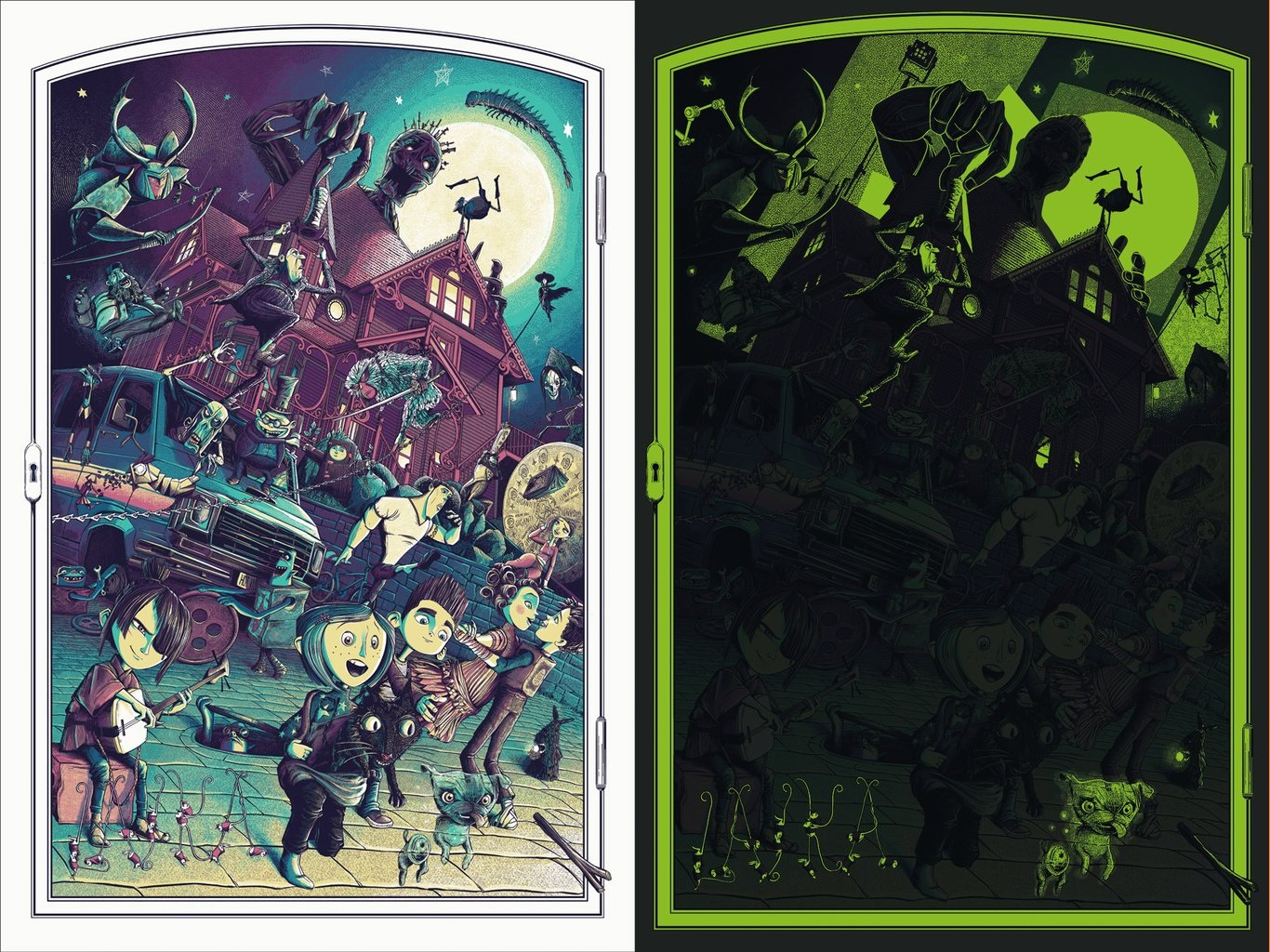 The Blot Says   : Handcrafted: From Coraline to Kubo Screen