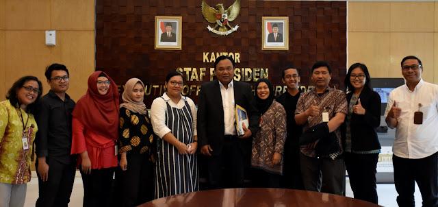 Terima Jaringan Buruh Migran, KSP Tegaskan Komitmen Jokowi Lindungi Buruh Migran