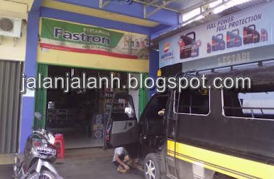 gambar bengkel mobil terdekat di Muara Enim
