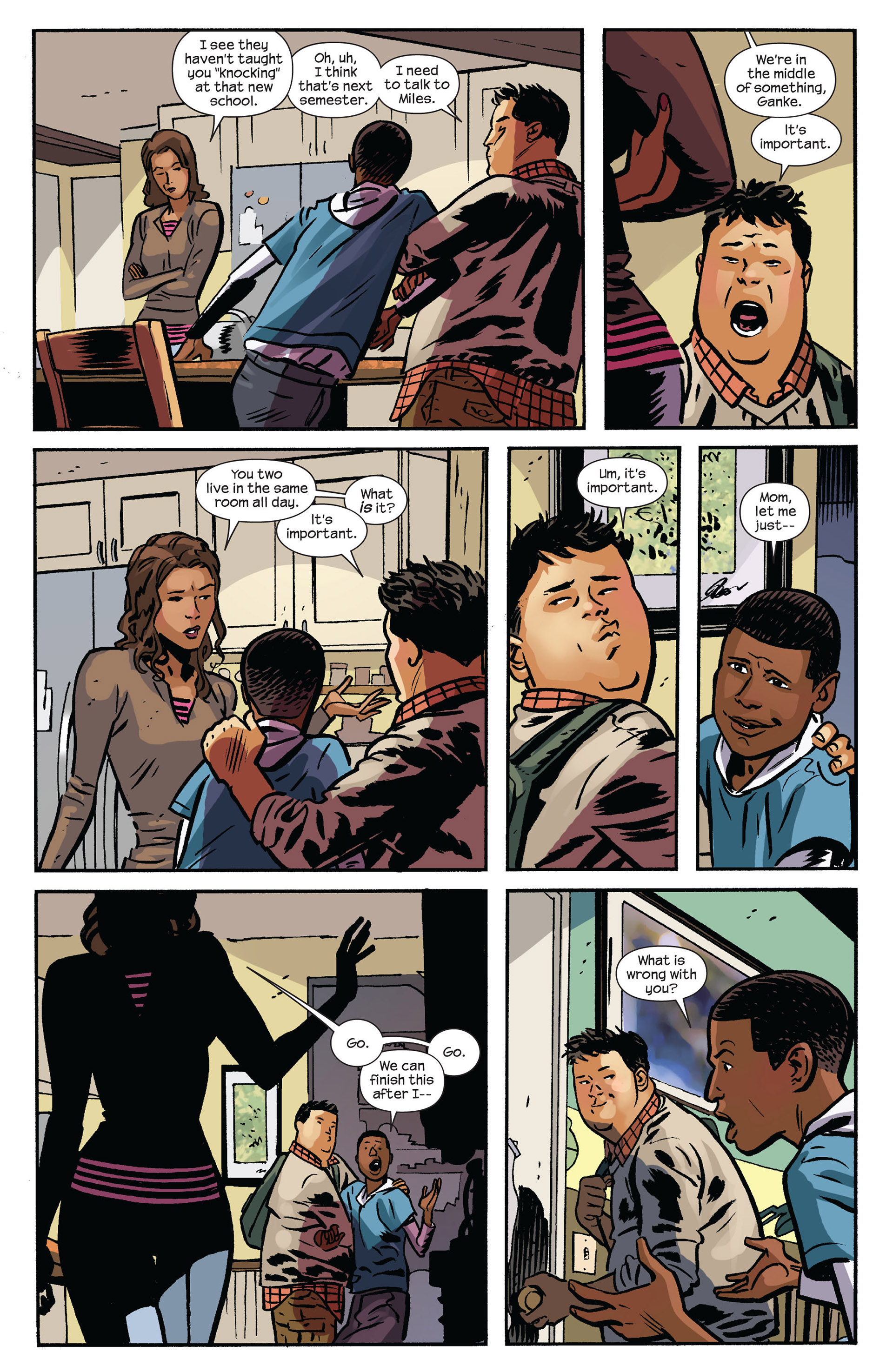 Read online Ultimate Comics Spider-Man (2011) comic -  Issue #6 - 18