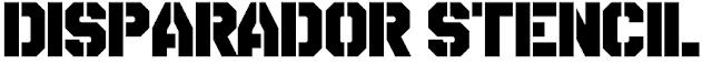 http://www.dafont.com/es/disparador-stencil.font