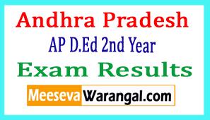 Andhra Pradesh AP D.Ed 2nd Year Exam Results 2018