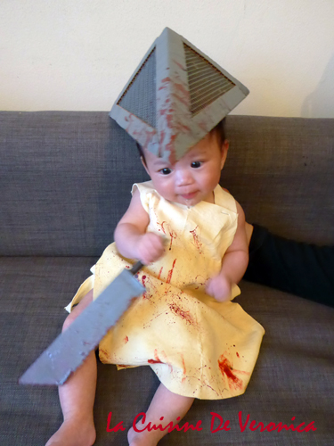 Halloween Baby Silent Hill Pyramid Head DIY Costume