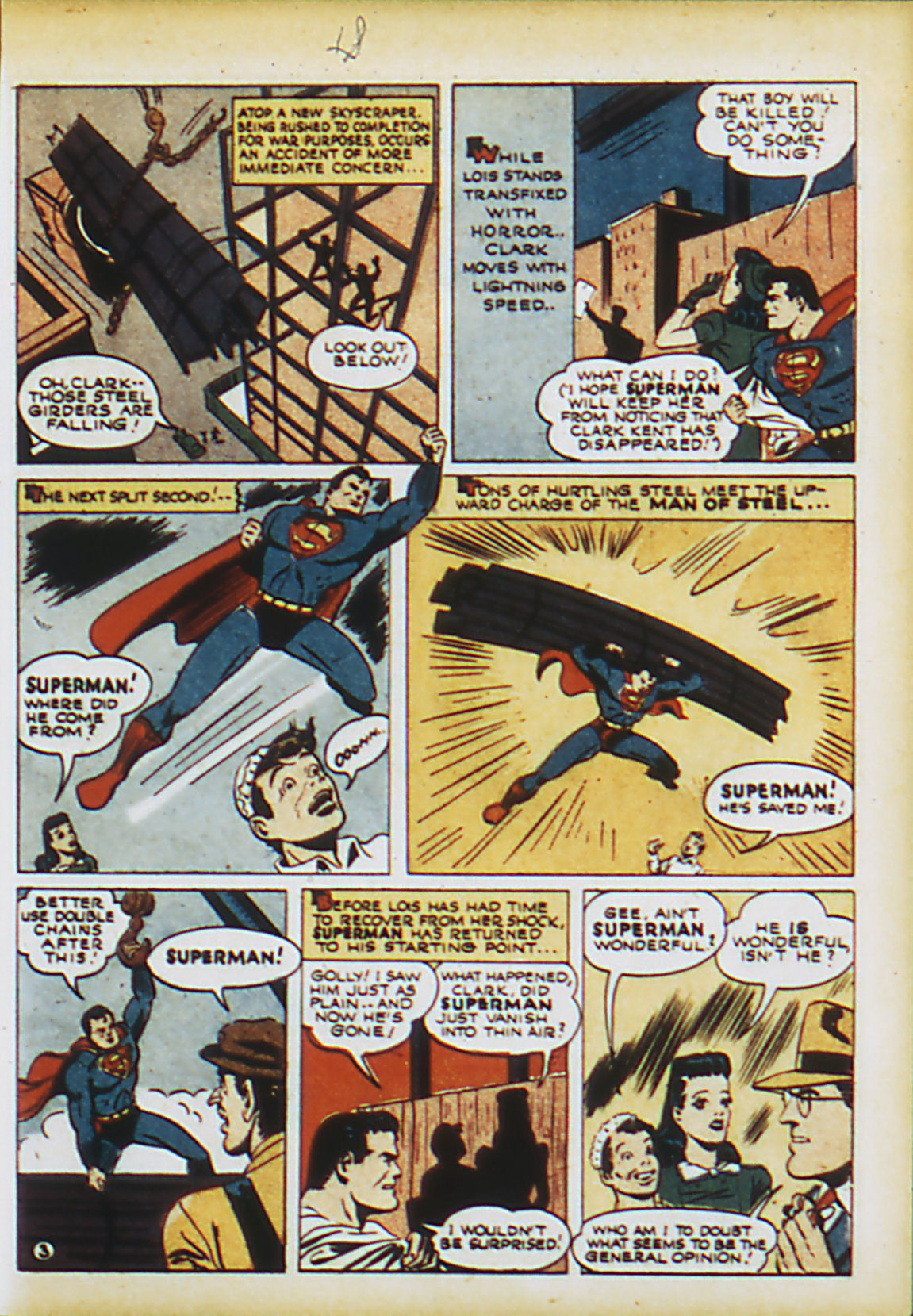 Read online Action Comics (1938) comic -  Issue #63 - 6