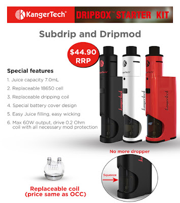 What should you know about Kangertech DRIPBOX Starter kit?