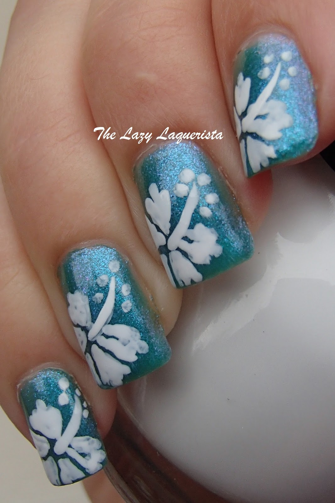 Floral Manicures For Spring And: Manicure Manifesto: Hawaiian Flower Nail Art