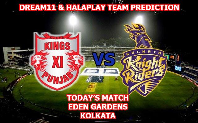 KKR vs KXIP Dream11 Team Prediction IPL 2019: Kolkata Knight Riders vs Kings XI Punjab Dream11 Team