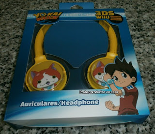 Auriculares yo-Kai Watch