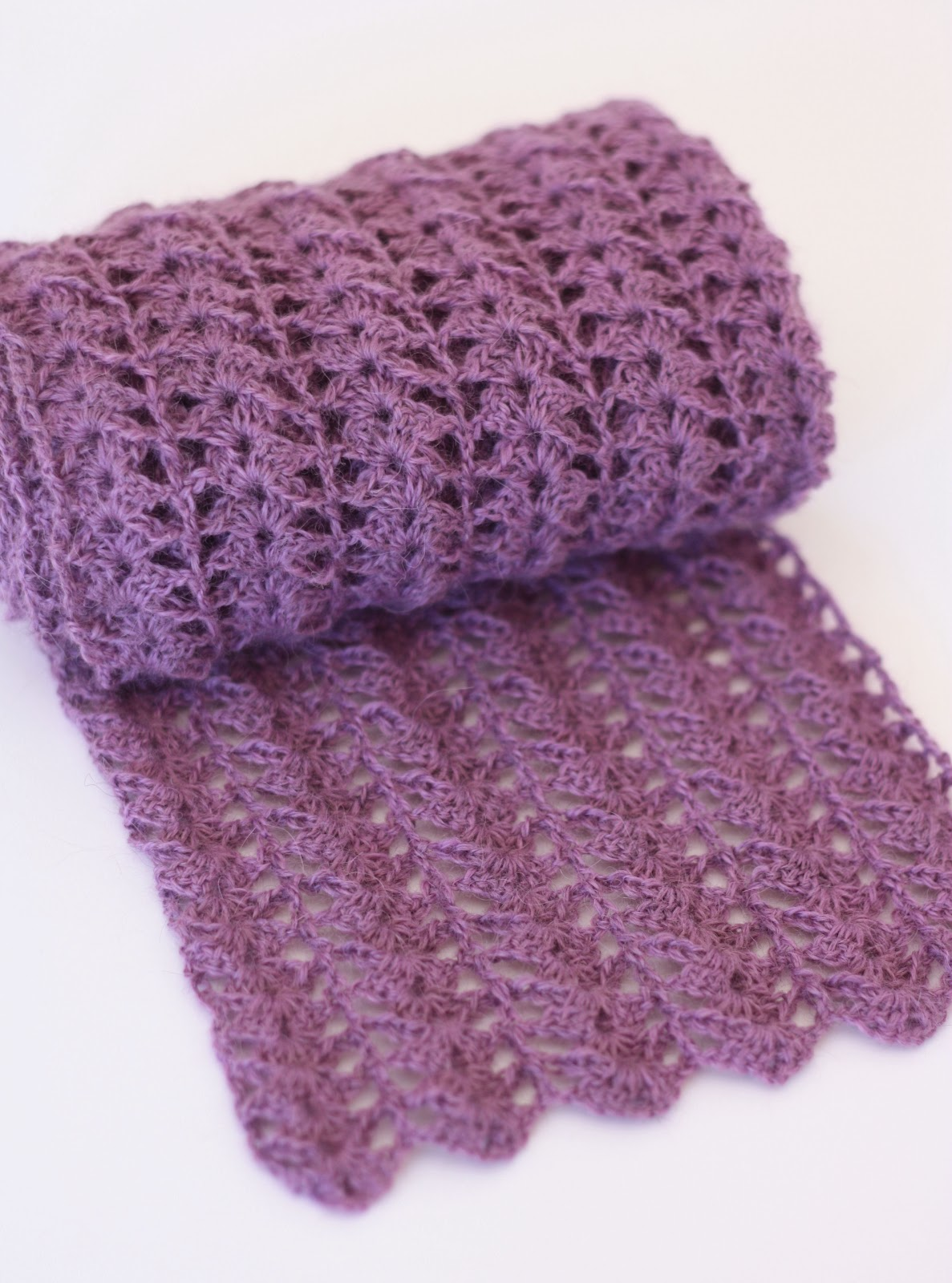 Crocheted Scarf A Spoonful Of Sugar