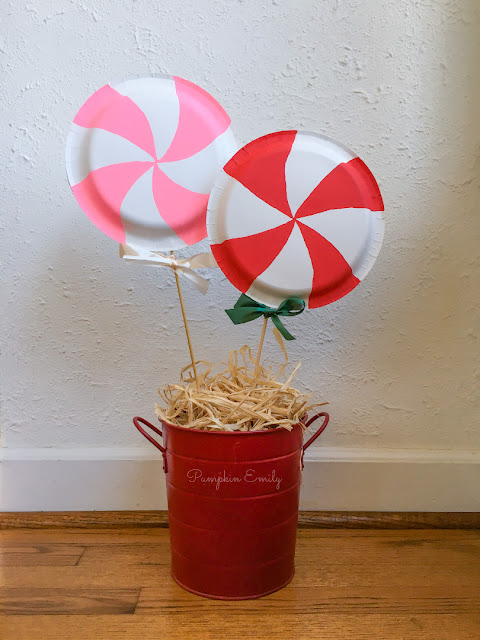 DIY Lollipop with Paper Plates