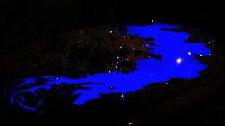 Maquete do Lago Guaíba (Museu de Ciência e Tecnologia da PUCRS)