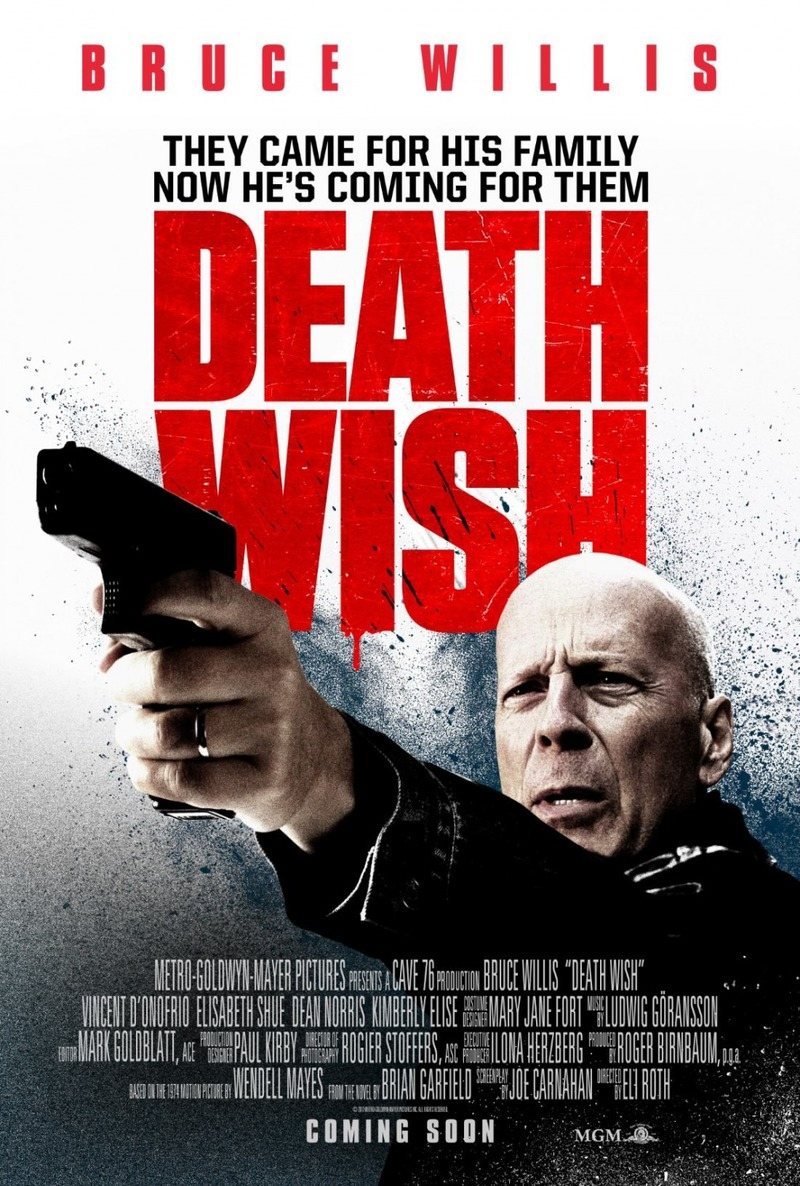 Death Wish 2018 Hindi English 720p BluRay Esub x264