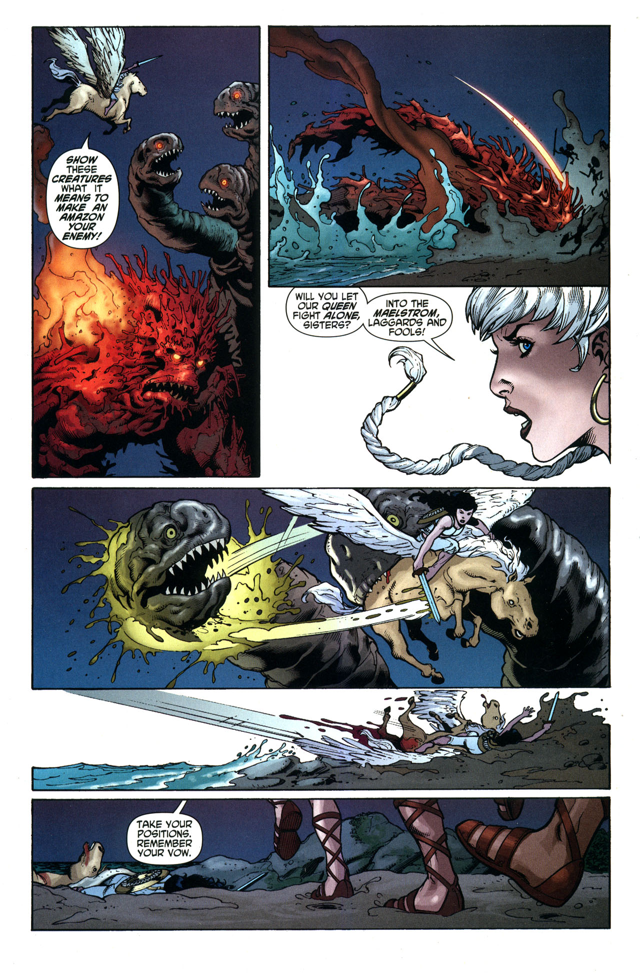Read online Wonder Woman (2006) comic -  Issue #33 - 10