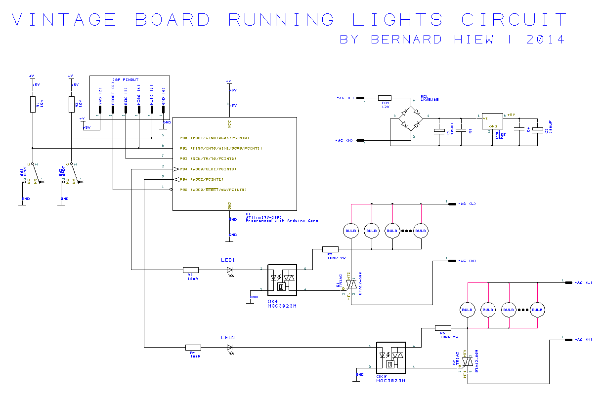 running lights circuit diagram cadillac bose amp wiring snip 39n 39 snap build vintage sign board with