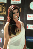 Varalakshmi in Cream Saree Sleeveless Backless Deep Neck Choli at IIFA Utsavam Awards March 2017 049.JPG