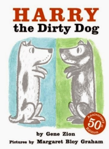 Children's book review list about dogs