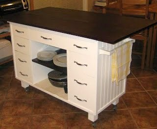 Https Www Remodelaholic Com From Dresser To Kitchen Island