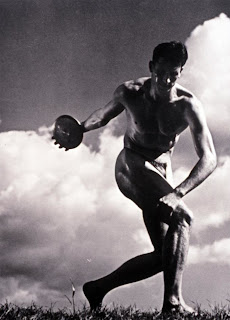"Image from the movie ""Olympia"" by Leni Riefenstahl"