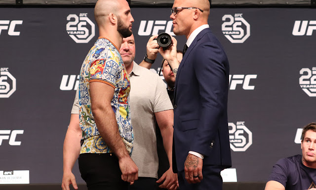 UFC Moncton Live Results : Volkan Oezdemir vs. Anthony Smith