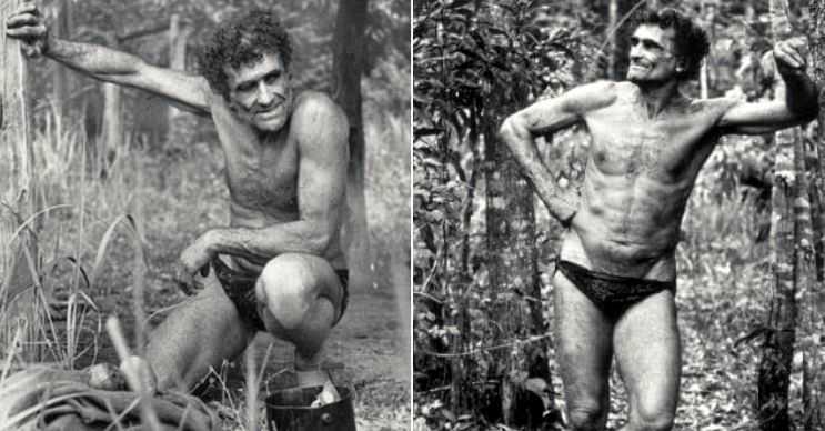 50 yıldır ormanda yaşayan gerçek Tarzan'ın hikayesi, filmi kadar güllük gülistanlık değildi.