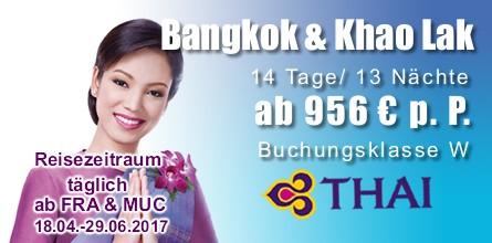 Kombireise Bangkok Khao Lak