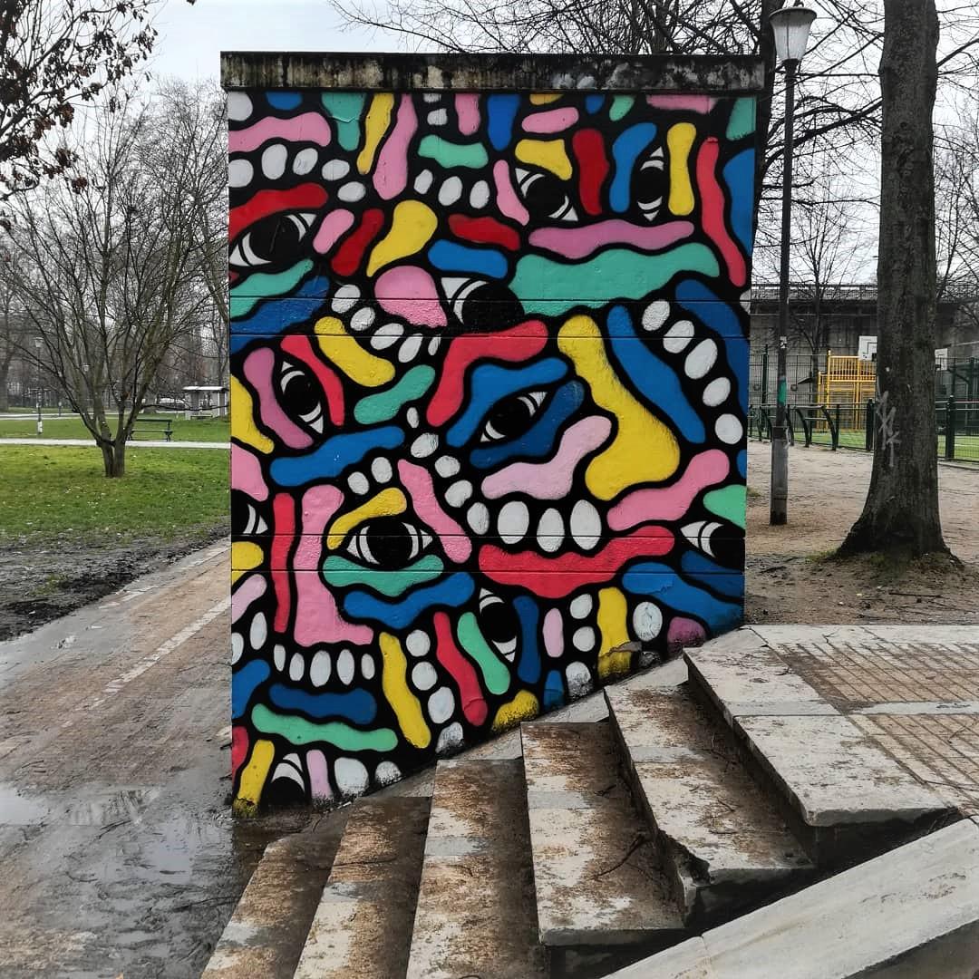 street art parc de bercy