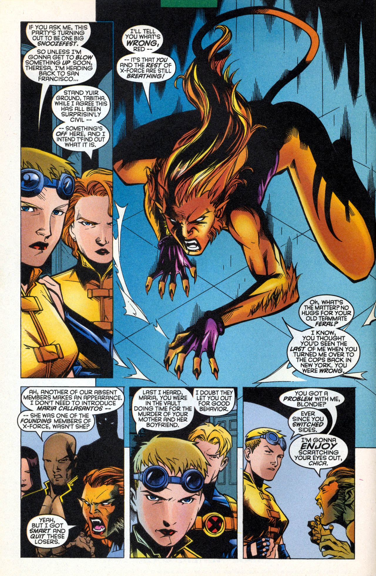 Read online X-Force (1991) comic -  Issue #88 - 9