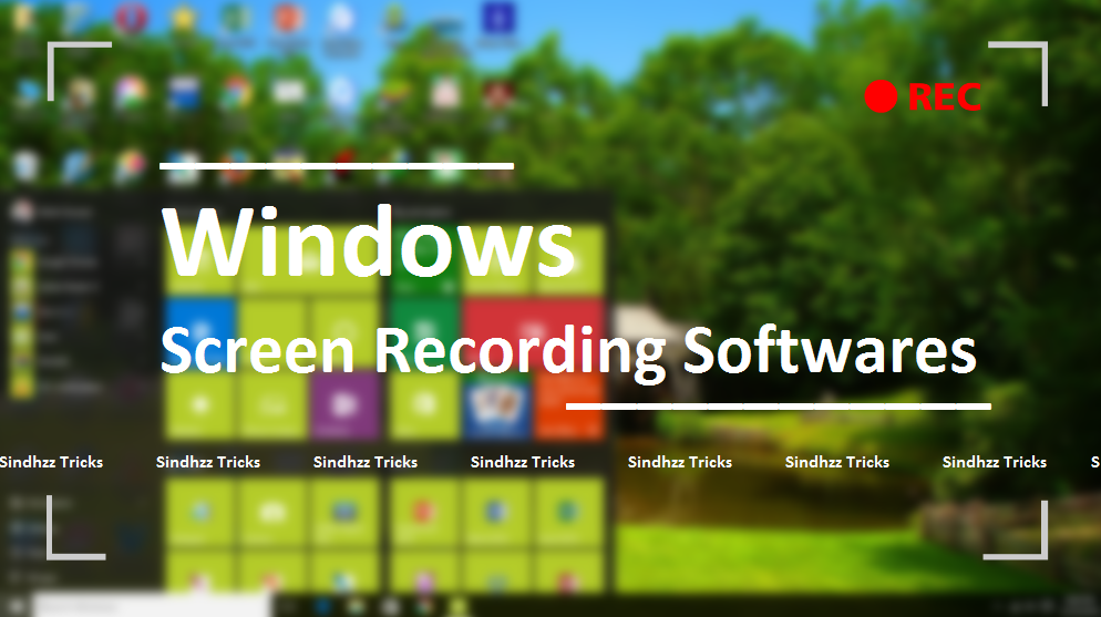 free  screen recorder software windows 7