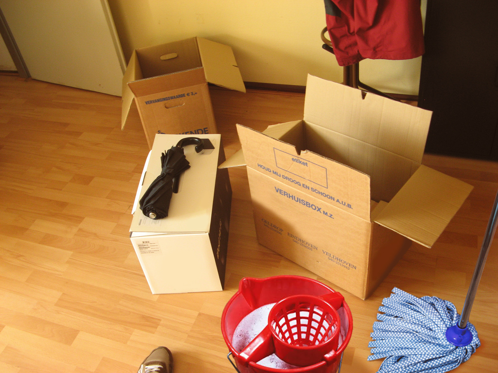 Moving cleaning services in Oklahoma