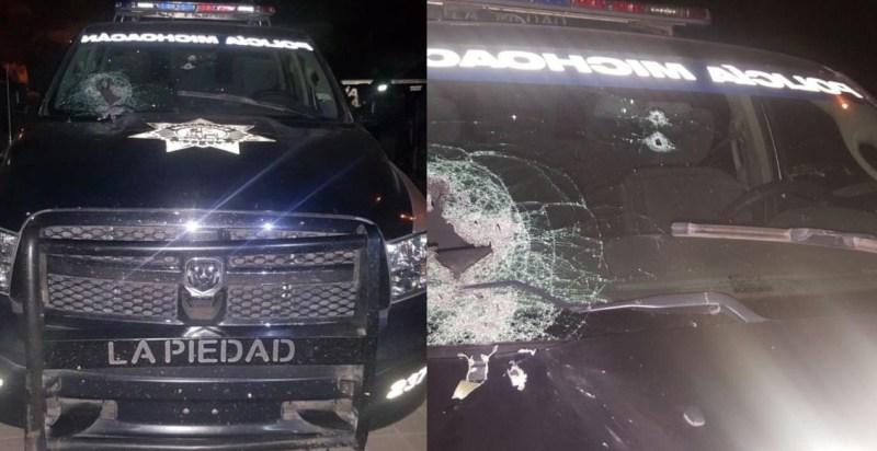"""Rafaguean a policías tras aprehender a """"El Pelón"""", integrante del CJNG en Michoacán"""