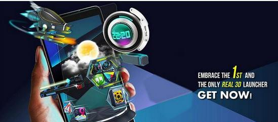 Next Launcher 3D Shell v3.03 Patched Apk