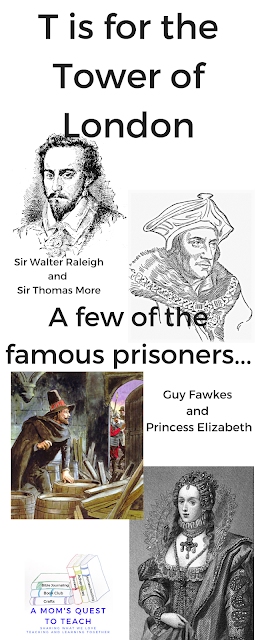 images of famous prisoners of the Tower of London